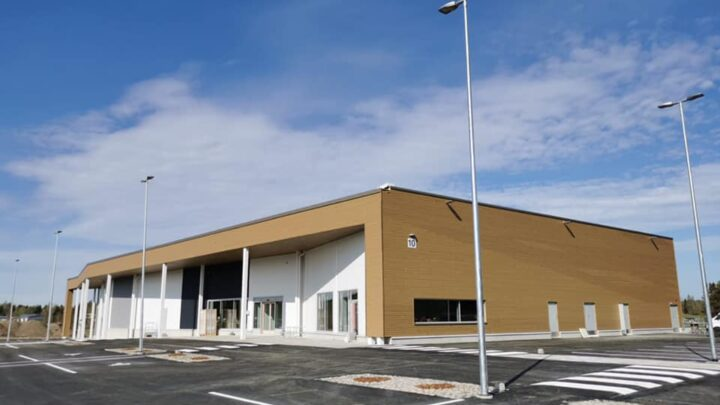 Valkeakosken Vanhakylän uusi liikekeskus