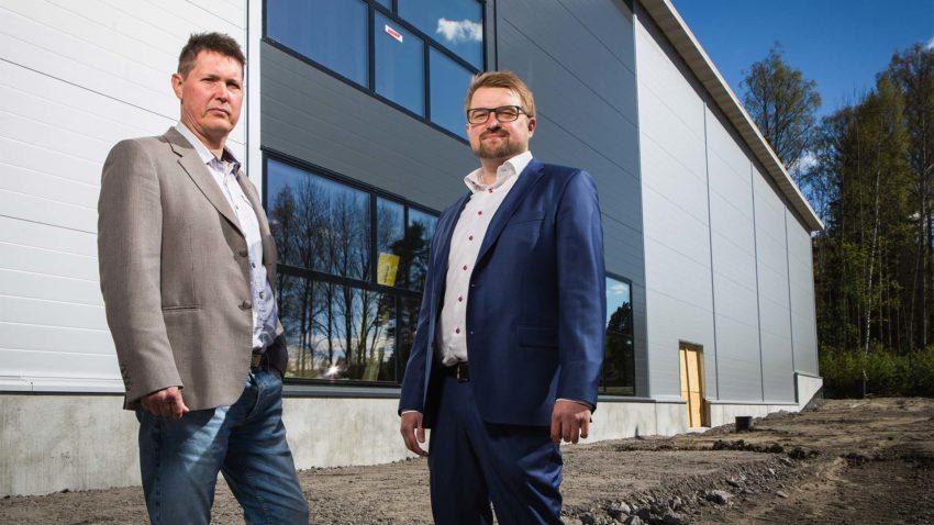 Mikael Alaviitala ja Petteri Saarinen